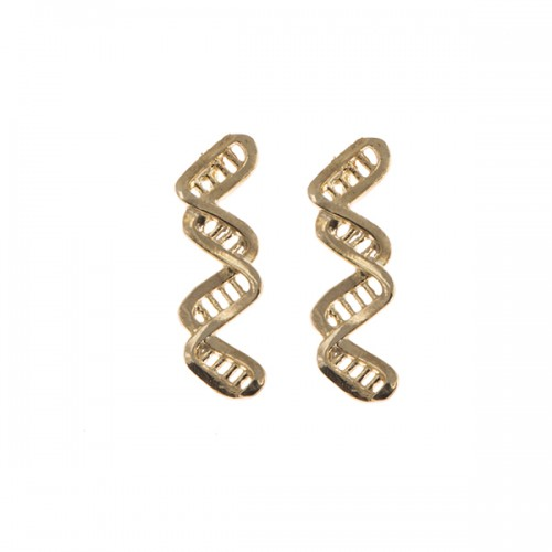 Infinity DNA Earrings