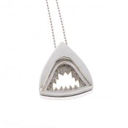 Jawz Necklace with Pavé Diamond Necklace
