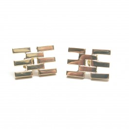 Fused Flat Lines Earrings