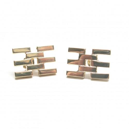Fused Flat Lines Earrings