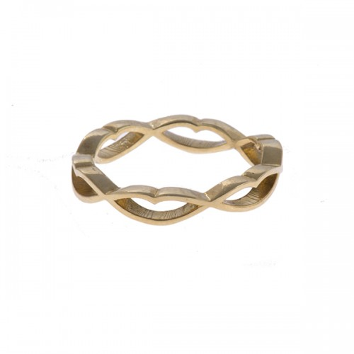 Locked Lips Ring
