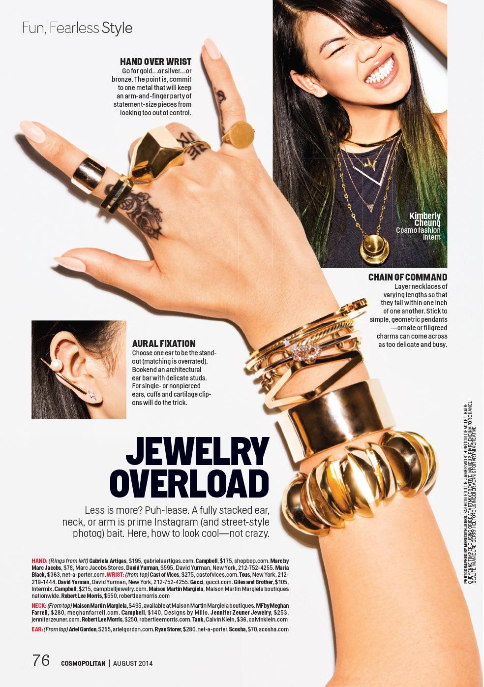 Cosmopolitan, October 2014