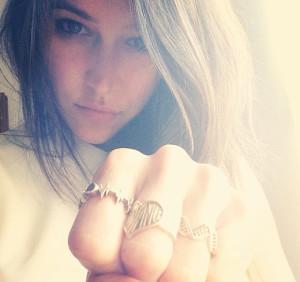Meghan Farrell Jewelry EKG MF Jewelry